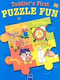 Toddler's First Puzzle Fun-Blue