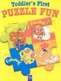 Toddler's First Puzzle Fun-Yellow