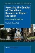 Assessing The Quality Of Educational Research In Higher Education