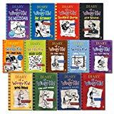 Diary of A Wimpy Kid Book 1 - 13 Complete Collection 13 Books Set (The Getaway [Hardcover], ...