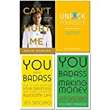 Cant hurt me, unfck yourself, you are a badass, you are a badass at making money 4 books col...