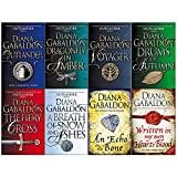 Diana Gabaldon Outlander Series 8 Books Collection Set (Outlander,Dragonfly in Amber,Voyager...