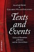 Texts & Events Cultural Narratives of Britain & the United States