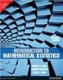 Introduction to Mathematical Statistics 7th By Robert V. Hogg (International Economy Edition)