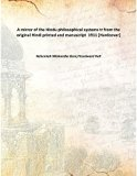 A mirror of the Hindu philosophical systems tr from the original Hindi printed and manuscrip...