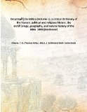 Encyclopædia biblica ; a critical dictionary of the literary, political and religious histo...