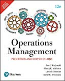 Operations Management : Processes And Supply Chain, 12Th Edition
