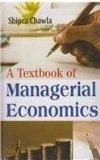 A Textbook of Managerial Economics