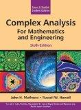 Complex Analysis For Mathematics And Engineering,