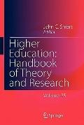 Higher Education: Handbook of Theory and Research : Volume 25