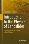 Introduction to the Physics of Landslides: Lecture notes on the dynamics of mass wasting
