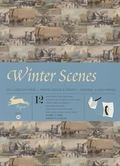 Winter Scenes : Gift Wrapping Paper Book Vol. 23