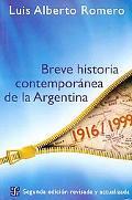 Breve Historia Contemporanea De Argentina