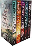 The Long Earth 5 Books Collection Box Set by Terry Pratchett & Stephen Baxter (The long eart...