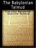 Babylonian Talmud Tractate Berakoth, Soncino