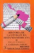 Historia de la Literatura Hispanoamericana (History of Hsipanoamerican Literature), Vol. 2