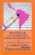 Historia de la Literatura Hispanoamericana (History of Hispanoamerican Literature), Vol. 1