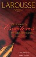 Diccionario de Escritores Hispanoamericanos del siglio XVI al siglio XX