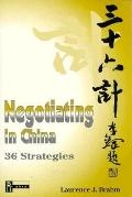 NEGOTIATING IN CHINA