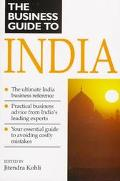 BUSINESS GUIDE TO INDIA - Jitendra Kohli - Paperback