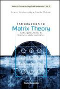 Introduction to Matrix Theory With Applications to Business and Economics