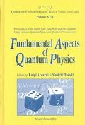 Fundamental Aspects of Quantum Physics Proceedings of the Japan-Italy Joint Workshop on Quan...
