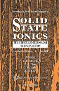 Solid State Ionics The Science And Technology Of Ions In Motion, Proceedings Of The 9th Asia...