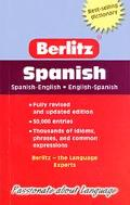 Berlitz Spanish Dictionary Spanish-English English-Spanish