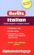 Berlitz Pocket Dictionary/Dizionario Tascabile Italian-English English-Italian/Italiano-Ingl...