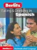 Berlitz Mini Guide Eating & Drinking in Spanish
