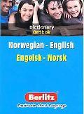 Dictionary Berlitz Norwegian-English / English- Norwegian Ordbok Norsk - Engelsk / Engelsk -...