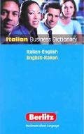Berlitz Italian Business Dictionary Italian - English English - Italian