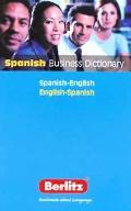 Berlitz Spanish Business Dictionary