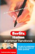 Berlitz Italian Grammar Handbook