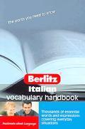 Berlitz Italian Vocabulary Handbook