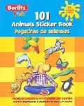101 Animals Sticker Book/ 101 Pegatinas De Animales