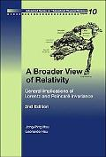 Broader View of Relativity General Implications of Lorentz And Poincare Invariance