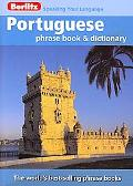Portugese Berlitz Phrase Book and Dictionary