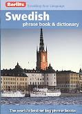 Swedish Berlitz Phrase Book and Dictionary