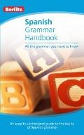 Spanish Grammar Berlitz Handbook (Berlitz Handbooks) (Spanish and English Edition)