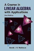 Course in Linear Algebra With Applications