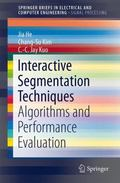 Interactive Segmentation Techniques : Algorithms and Performance Evaluation