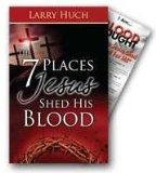 7 Places Jesus Shed His Blood + Bookmark