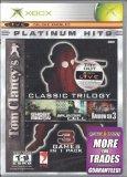 Tom Clancy's Triple Pack (Splinter Cell, Ghost Recon, Rainbow Six 3) - Xbox
