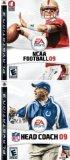 NFL Football Head Coach 2009 + NCAA College Football 09