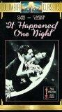 It Happened One Night [VHS]