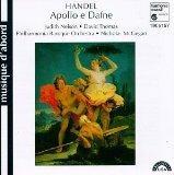 Handel - Apollo e Dafne / Judith Nelson  David Thomas  PBO  McGegan