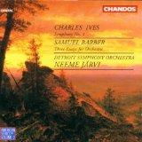 Charles Ives: Symphony No. 1 / Samuel Barber: 3 Essays for Orchestra