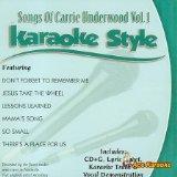 Daywind Karaoke Style: Carrie Underwood Vol. 1