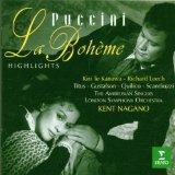 Puccini: La Bohme (Highlights) / Te Kanawa, Leech, Nagano